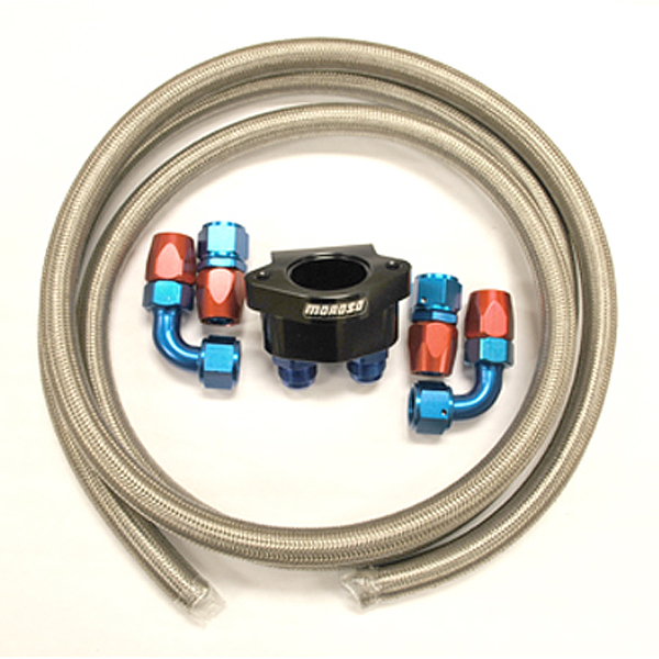 703850-K - World Products - Motown LS Water Return Kit  (Braided Hose)