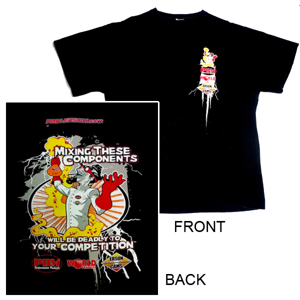 MS3XL - PBM Performance - 3XL T-SHIRT MAD SCIENTIST