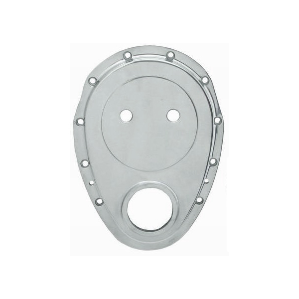 640 - PBM Performance - SBC Polished Aluminum Timing Cover