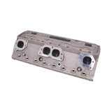 "176-21P-13 - PBM Performance - SBC 210cc - 2.055/1.600 -  64cc - 23 Degree ""All American"" Aluminum Cylinder Heads - STRAIGHT PLUG - Bare"