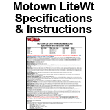 Motown Pro Instructions