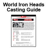 World Iron Heads Casting ID