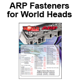 ARP Fasteners for World Heads