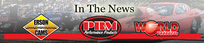 PBM Performance Erson Cams World Products in the News